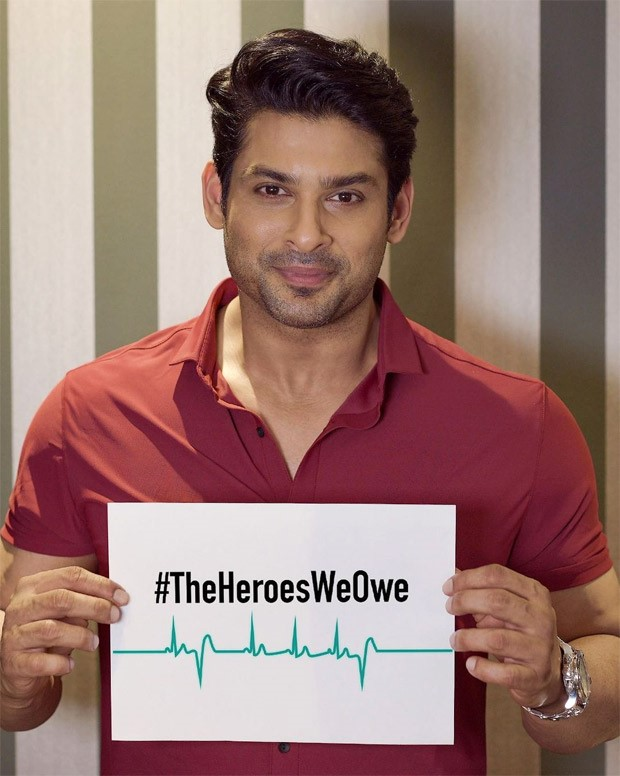 Sidharth Shukla's last Instagram post is a tribute to the frontline workers