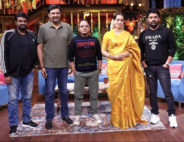 The Kapil Sharma Show Kapil Sharma takes a dig at Kangana Ranaut; asks her how she hasn't been there in any controversy