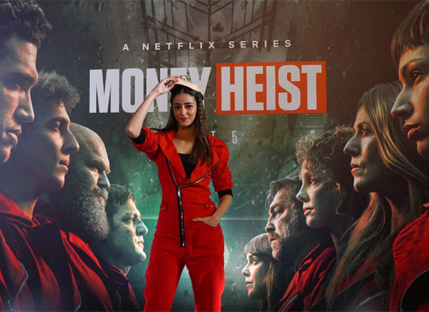 Netflix India welcomes Money Heist Part 5: Volume 1 at Bombay Stock Exchange; Ananya Panday rings the customary bell