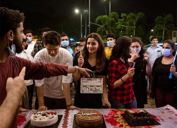 Alia Bhatt, Vijay Varma and director Jasmeet K Reen wrap up the shoot of Darlings