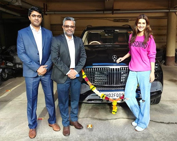 After Arjun Kapoor, Kriti Sanon gifts herself a Mercedes Maybach worth Rs. 2.43 crore
