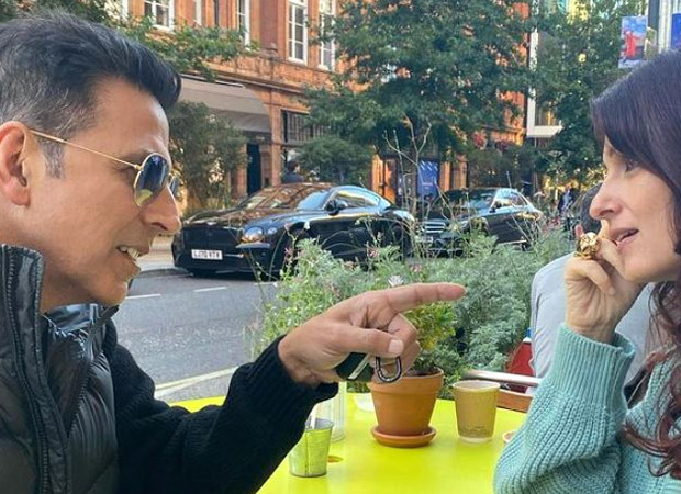Twinkle Khanna shares a series of candid pictures with Akshay Kumar; call it a representation of most marriages