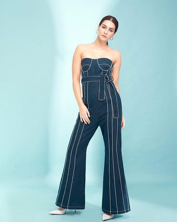 Kriti Sanon looks stunning in a navy blue jumpsuit worth Rs. 7,000