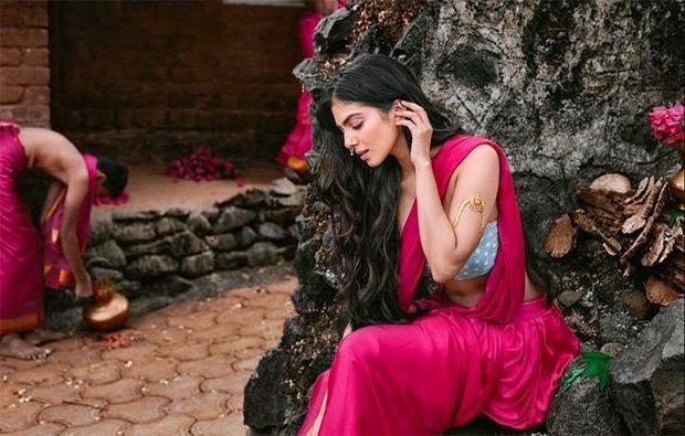 Malavika Mohanan mesmerises as she recreates the mythological character Urvashi