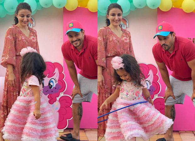 Soha Ali Khan shares photos from her daughter Inaaya Naumi Kemmu's birthday party on Instagram.