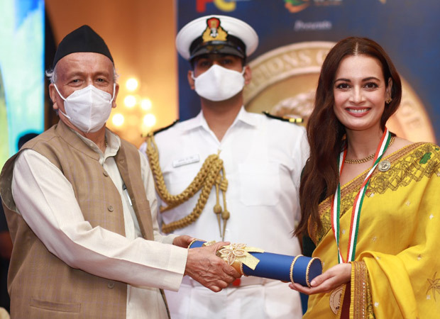 Dia Mirza honoured with the 'Champion of Change' award