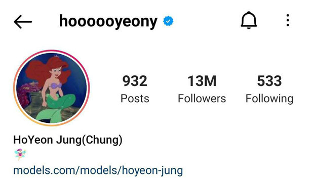 Squid Game breakout star Jung Ho Yeon becomes most followed Korean actress on Instagram surpassing Lee Sung Kyung